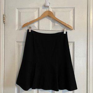 Sandra Angelozzi Black Flared Pencil Skirt